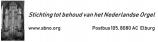 Stichting tot Behoud van het Nederlands Orgel